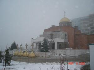 Первая зима монастыря